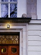 Detail of house, Berlin, Germany