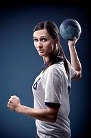 handball girl