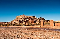 Ait_Ben_Haddou, Morocco, North Africa