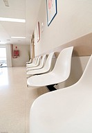 Hospital waiting room´s picture from Spain