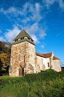 France, Auvergne, Nassigny, church.