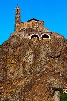 France, Auvergne, Le Puy en Velay, Saint Michel chapel