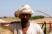 India, state of Gujarat, rabari man