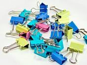 multicolored paper clipsmulticolored paper clips