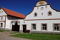 Holasovice. Unesco World heritage site. South Bohemia. Czech Republic