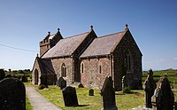 St  Madoc's Church, Llanmadoc, Gower, Wales, UK