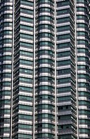 Detail of the Petronas Towers, Kuala Lumpur