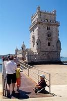 The Tower of Belem, Belem, Lisbon, Portugal