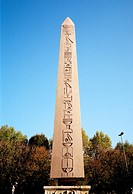 The Egyptian Obelisk Obelisk of Theodosius at the Hippodrome in Istanbul, Turkey