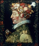 SPRING.Giuseppe Arcimboldo (1537-1593). Canvas, 1573.