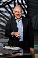 15 05 2011, Milan, Telecast RAI 3 ´Che tempo che fa´  Carlo Verdone