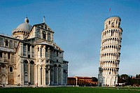 Leaning Tower Duomo Pisa, Tuscany, Italy