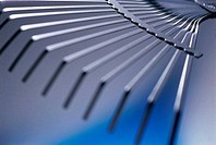 Close_up of a rake