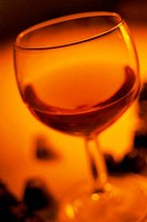 Close_up of a glass of wine