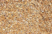 Close_up of wood chips