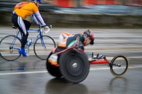 Wheelchair racing  Behobia- Donostia San Sebasti&#225;n
