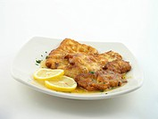 Chicken francaise whole plate