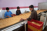 biscuit factory in herat, Afghanistan