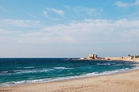 Ancient port Caesarea