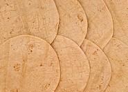 wheat tortilla background