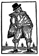 SHAKESPEARE:FALSTAFF, 17th C.From The Merry Wives of Windsor: woodcut, early 17th century.