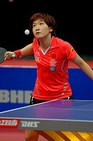 Rotterdam The Netherlands 13-5-2011 World Cup Table Tennis  Womens singles Liu Shiwen CHN