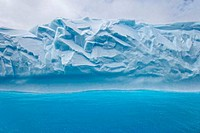 Iceberg in the sea, South Georgia Island, South Sandwich Islands