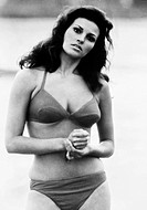 RAQUEL WELCH (1940- ).N�e Jo Raquel Tejada. American cinemactress. Photographed in the 1960s.