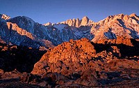 Mount Whitney Alabama Hills California USA