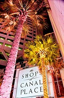 The Shops at Canal Place New Orleans Louisiana USA