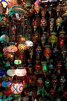 Craft products at a store, Grand Bazaar, Istanbul, Turkey