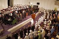 Harlem Mass,Gospel at Greater Refuge Temple Church,New York City, USA