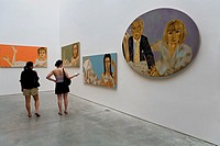 Mary Boone Gallery  541 West 24 Street  Exhibition by Francesco Clemente,Chelsea,New York City, USA