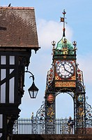 Eastgate Clock, Chester, Cheshire, England