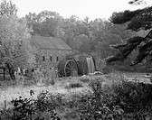 USA, Massachusetts, Sudbury, old Grist Mill