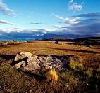New Zealand, South Island, Lake Tekapo and Southern Alps