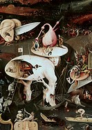 Garden Of Earthly Delights _ Detail 8 c.1505 Hieronymus Bosch ca.1450_1516 Netherlandish Museo del Prado, Madrid, Spain