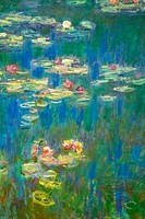 Water_lilies, painting by Claude Monet