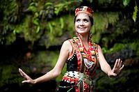 2011 Miss World Harvest Festival @Sarawak Cultural Village, Damai, Sarawak, Malaysia.