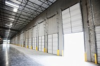 Open Warehouse Bay Door