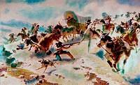 Westward Ho 1850 by William Robinson Leigh, 1866_1955