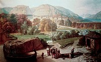 Roman Town At The Foot Of The Alps Penguilly_L´Haridon, Octave1811_1870 French