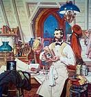 Alexander Graham Bell by Dean Cornwell, 1892_1960, 1847_1922