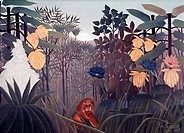 Repast Of The Lion S.d. 1910 Henri Rousseau 1844_1910 French