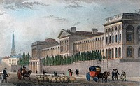 Lunatic Hospital, St. Luke´s 1831 Thomas Hosmer Shepherd 1792_1864 British Engraving