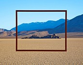 Framed Area of Desert
