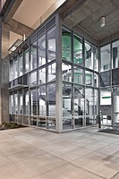 Glass Front of an Office Building