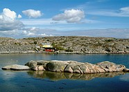 Sweden, Bohuslaen, View of rocky coastline