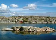 Sweden, Bohuslaen, View of rocky coastline