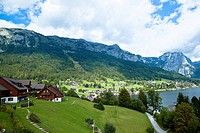 Grundlsee is located in what is considered to be the Salzkammergut, a resort area located in Austria. It stretches from City of Salzburg to the Dachst...